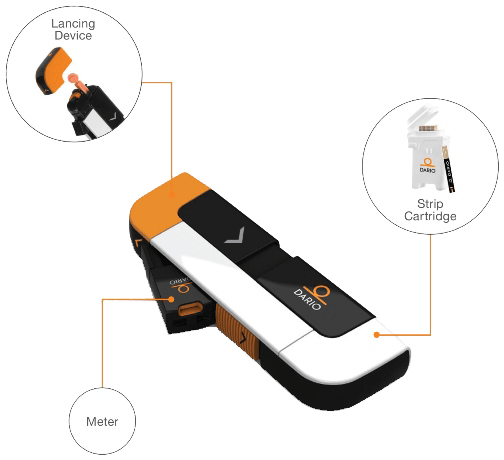 The Dario All-In-One Smart Glucose Meter