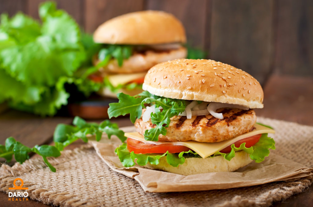 Diabetes Friendly Protein Packed Chicken Burgers Recipe